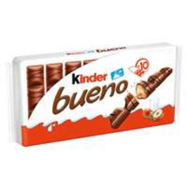 Suklaa Kinder Bueno -tarjous hintaan 5,99€