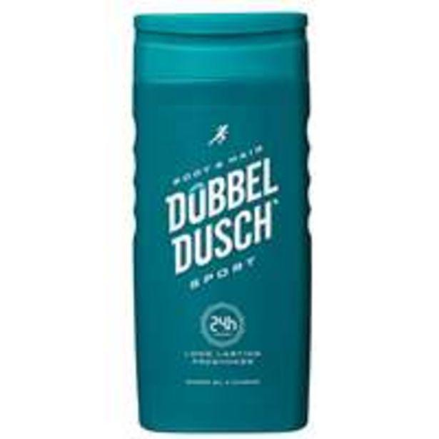 Suihkugeeli & shampoo Dubbeldusch -tarjous hintaan 1,29€