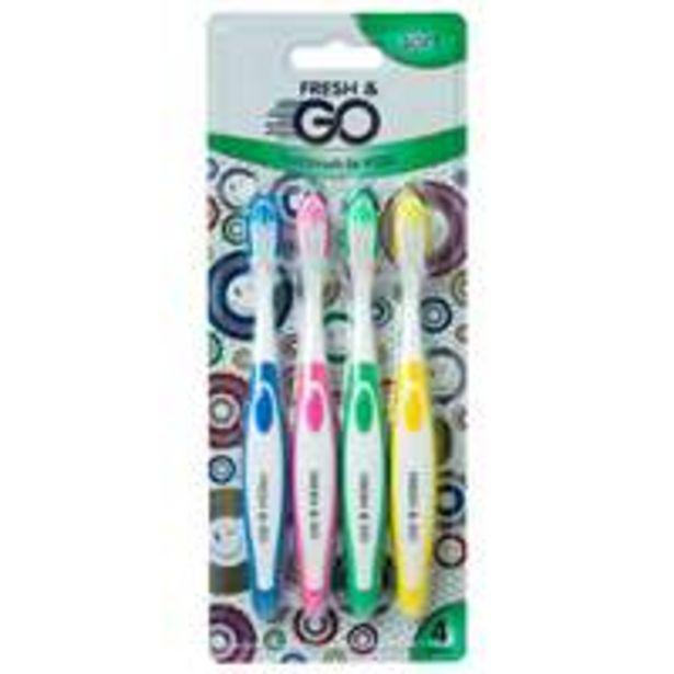 Lasten hammasharja Fresh & Go -tarjous hintaan 0,01€