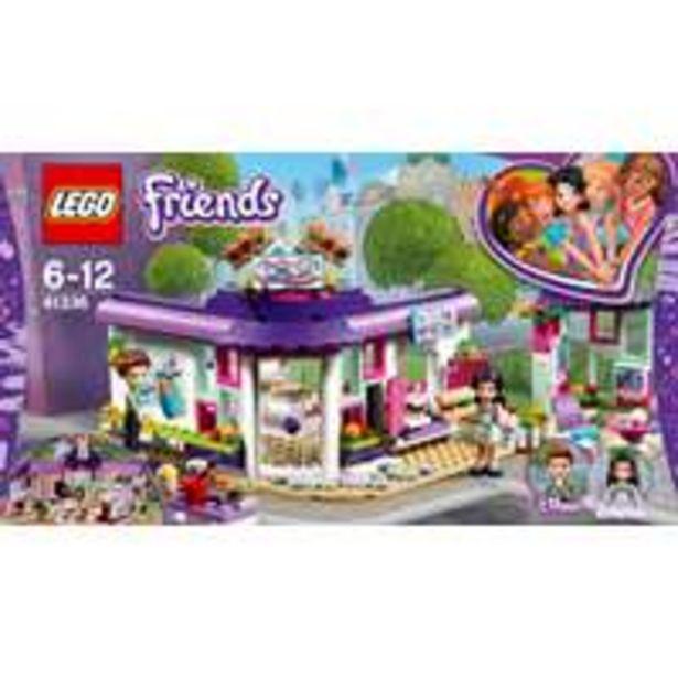 Lego Friends Emma's Artist café -tarjous hintaan 24,9€