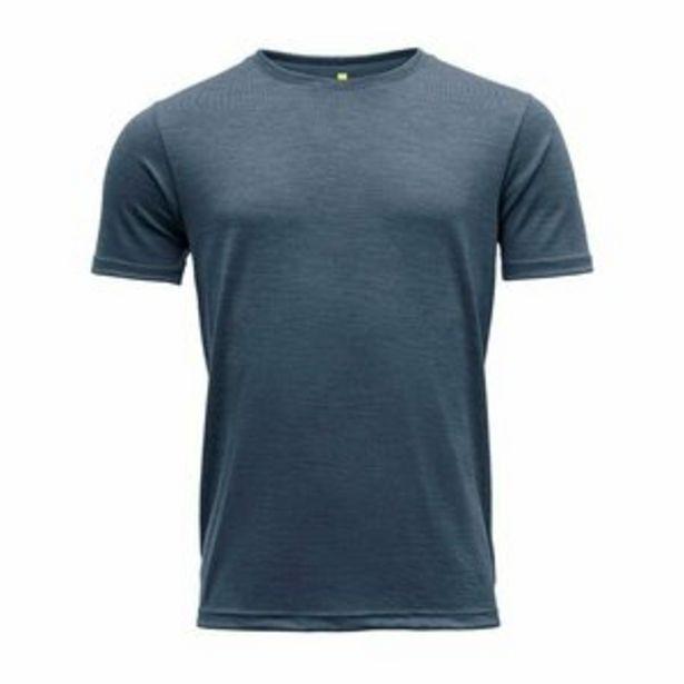 Devold Eika miesten merinovilla t-paita, night -tarjous hintaan 69,9€