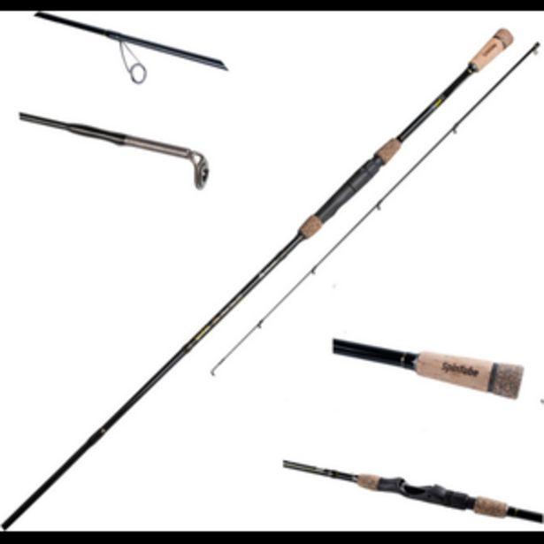 Mikado Spintube Pro avokelavapa Perch/river 240 cm 3-15g vieheille -tarjous hintaan 89€