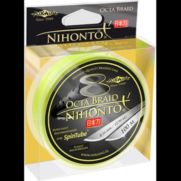Mikado Spintube kuitusiima Octa Braid 8 line 0,10mm fluo 100m -tarjous hintaan 22€